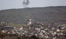 الجيش الاسرائيلي يعلن عن اسقاط هدف في أجواء الجولان السوري