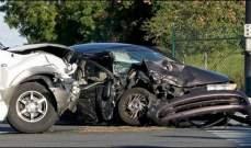 التحكم المروري: قتيل و16 جريحاً في 8 حوادث سير خلال الـ24 ساعة الماضية