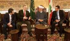 المفتي دريان التقى رئيس وزراء البوسنة السابق ومدير المخابرات في الجيش