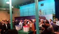 النشرة: الرئيس إلإيراني الاسبق محمد خاتمي يدلي بصوته
