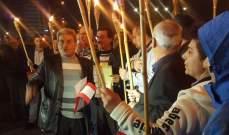 """مسيرة لـ""""بدنا نحاسب""""نحو مجلس النواب إحتجاجا على عدم إقرارقانون إنتخابي"""
