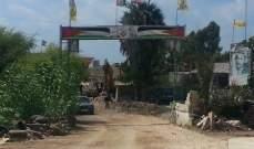 القوة الأمنية في مخيم الرشيدية حذرت كل مخل بالامن في المخيم