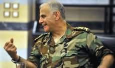 قهوجي استقبل قائد القيادة الوسطى الأميركية على رأس وفد في اليرزة