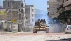 إصابة 3 أشخاص بجروح نتيجة سقوط قذائف صاروخية على حي الشاغور في دمشق