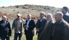 جيش اسرائيل أطلق قنابل دخانية لتفريق أهالي ينظمون اعتصاما في ميس الجبل