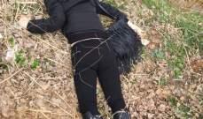 النشرة: العثور على جثة امرأة على طريق عام قب الياس عميق