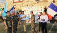 الوحدة الفرنسية في اليونيفيل نظمت اولمبيادا عسكريا في صور