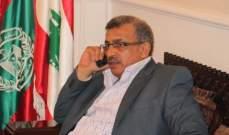 سعد بحث هاتفيا مع عباس آخر المستجدات على الساحتين اللبنانية والفلسطينية