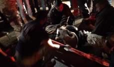 الدفاع المدني: جريح جراء حادث صدم في غوسطا