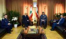 عثمان التقى بخاري والجوهري وآباء دير الناعمة وآباء دير الجية