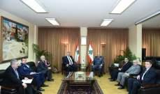 اللواء بصبوص التقى نائب رئيس الهيئة الفدرالية الروسية للتعاون العسكري