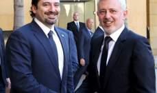 مصادر الديار: الحريري سيكون الى جانب فرنجية في الاستحقاق الانتخابي