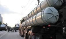 سلطات ايران تختبر بنجاح منظومة صواريخ اس 300 التي اشترتها من روسيا