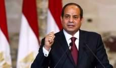 السيسي: نتطلع لموقف قوي يستعيد وحدة الصف العربي والارهاب أبرز التحديات