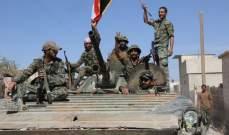 الجيش السوري يستعيد جميع نقاط المسلحين في المنطقة الفاصلة بجوبر