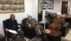 حمود التقى رفعت السيد احمد وتأكيد على ضرورة دعم المقاومة