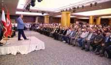 وهاب: لقانون نسبي ولبنان على دائرة إنتخابية واحدة لأن النائب هو للبنان