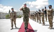 بيري زار قائد الجيش:لتعزيز التعاون وتوسيع أنشطة التعاون المدني العسكري