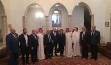 سفير لبنان بالسعودية كرم رضوان السيد لنيله جائزة الملك فيصل العالمية