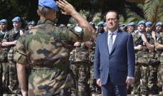 فرنجية مرتاح بعد زيارة هولاند لكن الرئاسة بعيدة