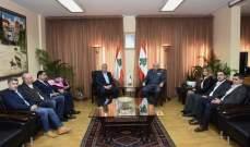 اللواء بصبوص استقبل وفدا من تيار المستقبل في جبل لبنان