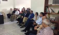 القومي ينظم محاضرة سياسية حول الأحداث التي تواجهها الامة السورية