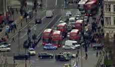 مسؤول برلماني: إصابة اثنين بالرصاص خارج البرلمان البريطاني
