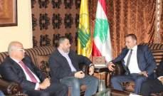 مسؤول صيدا في حزب الله إستقبل وفد إتحاد بلديات جزين ووفدا من بلدة عبرا