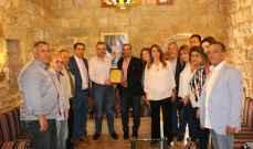 أرسلان التقى وفوداً مناطقية في الشويفات وعرض مطالباً إنمائية مع وفود بلدية