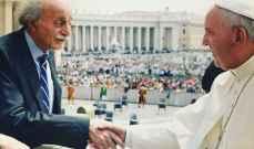جنبلاط إلتقى البابا فرنسيس: اتفاق على إستمرار التشاور والتواصل