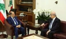 الرئيس عون إستقبل رئيس جمعية المصارف الدكتور جوزيف طربيه