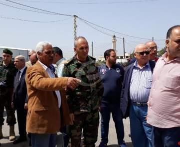 جولة اللواء محمد خير في صيدا