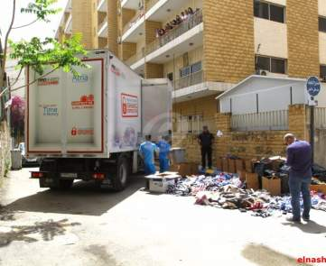 تلف البضائع المقلدة المضبوطة في الاسواق اللبنانية خلال العام المنصرم\n