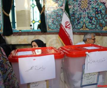 أجواء الانتخابات الايرانية في طهران