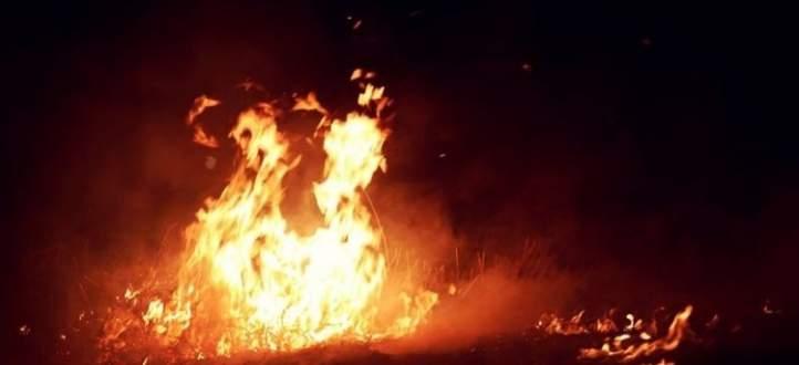 حرق هندية حية لاحتجاجها على قطع الأشجار