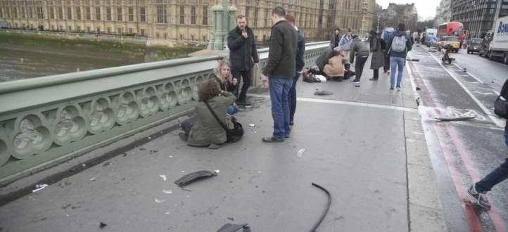 وسائل اعلامية بريطانية: الإصابات على جسر ويستمنستر ناجمة عن عملية دهس