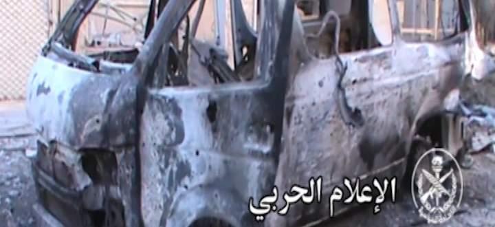 النشرة: الجيش السوري استعاد جميع النقاط التي تسلل اليها المسلحين شمال