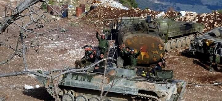 النشرة: الجيش السوري يقتحم منطقة جامع الإمام الحسين على طرف حي القابون