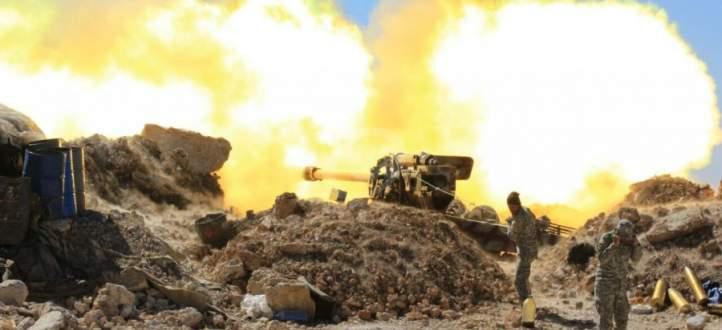 """العميد عصام زهر الدين من دير الزور للنشرة: """"عنا رجال عنا ابطال"""" يقاتلو"""