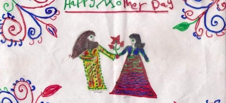 طلاب مدرسة مار شربل في حريصا يحتفلون بعيد الام