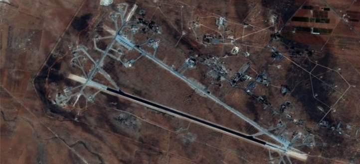 مصدر عسكري سوري: تعرض قاعدة جوية في وسط البلاد إلى عدوان أميركي