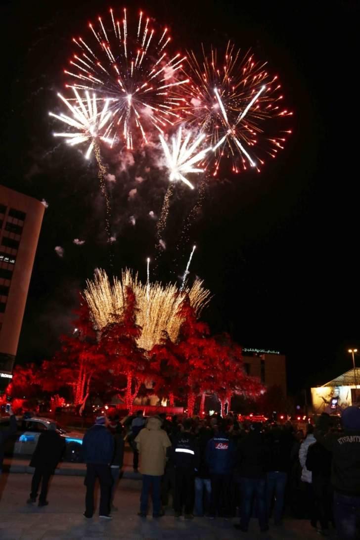 الكتلة الشعبية أقامت احتفالا لفوز زحلة في اجمل زينة ميلادية لـ2016