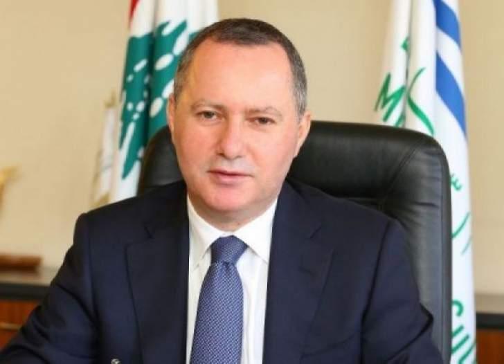 عريجي: للانكباب على معالجة ملف النازحين السوريين