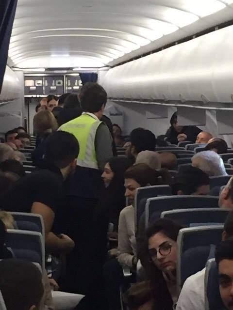 هبوط اضطراري لطائرة تابعة لطيران الشرق الاوسط بتركيا بعد اشكال على متنها