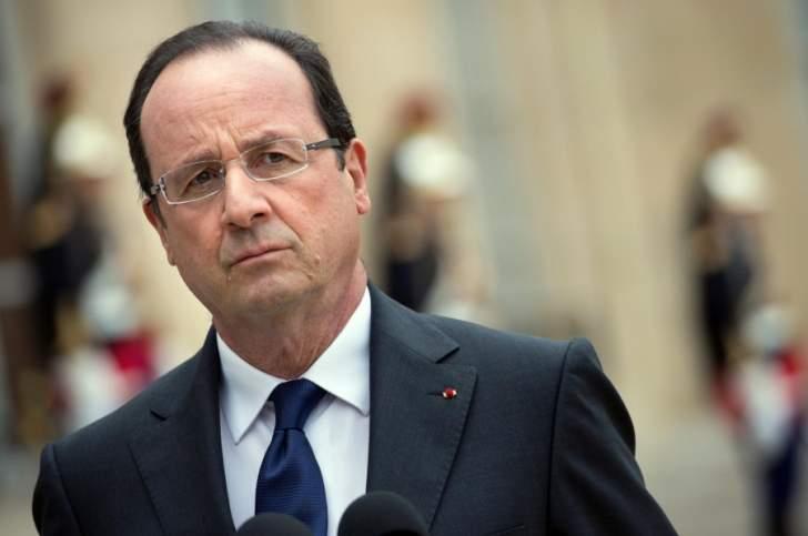 هولاند: نؤيد كل مبادرة تنهي الحرب في سوريا ضمن إطار مباحثات جنيف