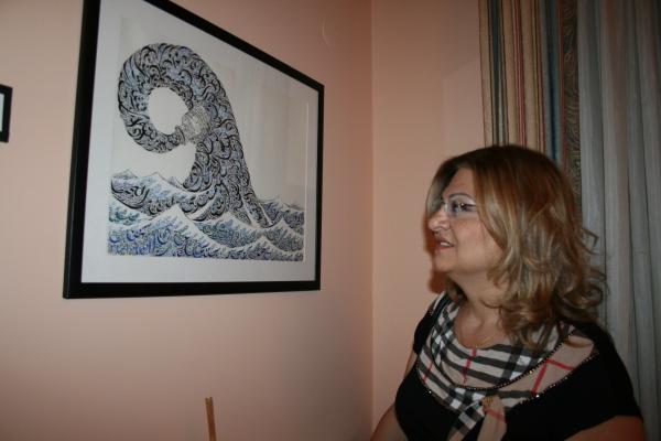 مع الاميركي ايفيريت باربي في عوكر
