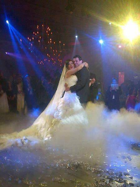 بالصور حفل زفاف دنيا سمير غانم 2013 , صور حفل زفاف رامي رضوان 2013