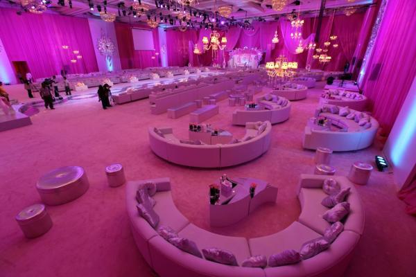 قاعة افراح تصميم عبد الرحمن الزير 2018  اجدد تصميم للقاعات للمصمم عبدالرحمن الزير