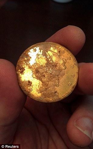 أميركيان يعثران ذهبية قيمتها بـ10