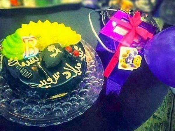 بالصور بسمة بوسيل تحتفل بعيد ميلادها بغياب زوجها وتامر حسنى يبعث لها برسالة رومانسية